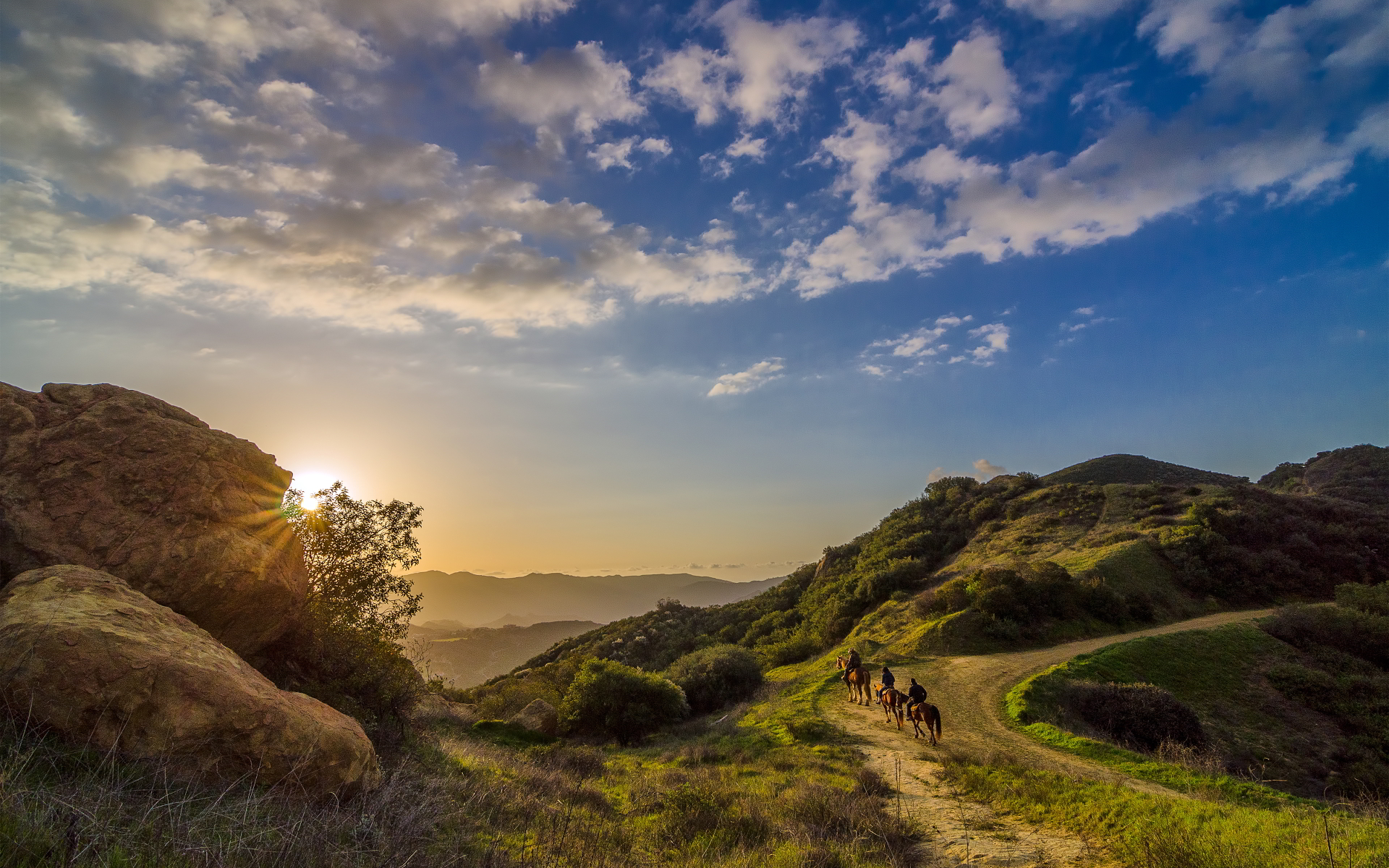 landscape topanga wallpaper