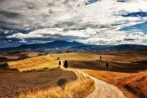 landscape tuscany free backgrounds