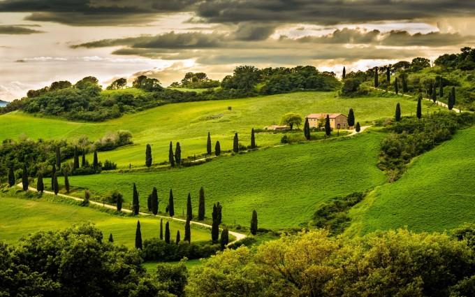 landscape umbria italy