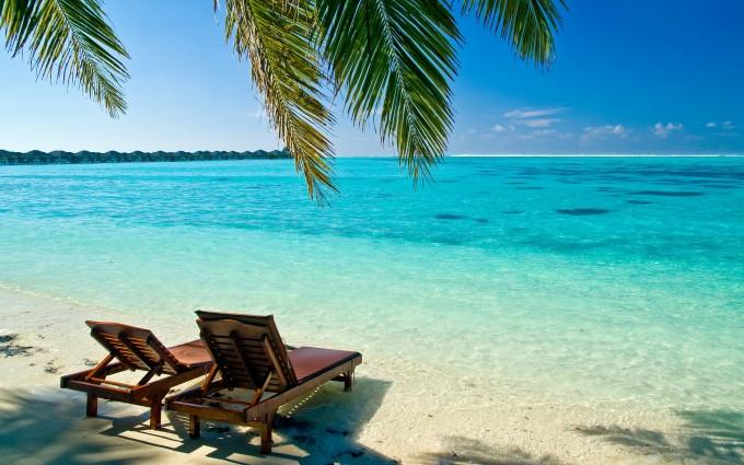 maldives tropical wallpaper