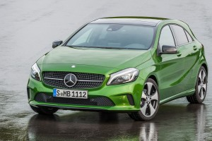 mercedes a class green wallpaper