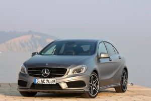 mercedes a class luxury car