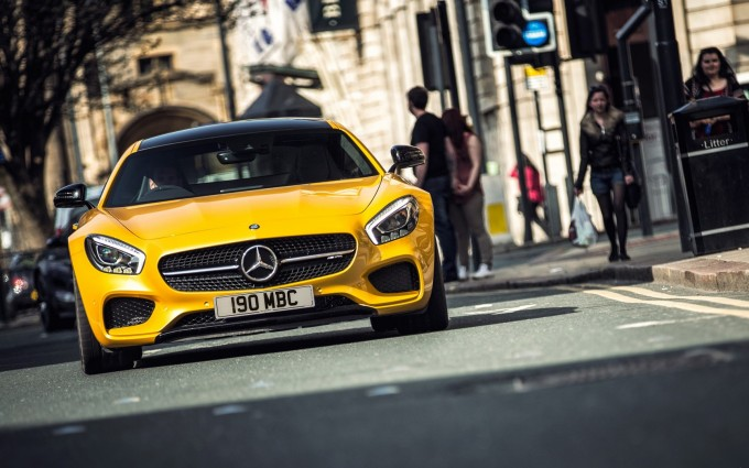 mercedes amg gt cool car