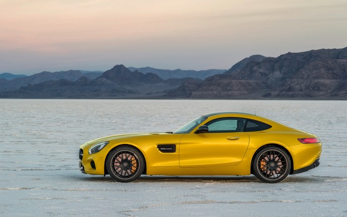 mercedes amg gt cool yellow