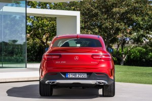 mercedes benz gle450 back