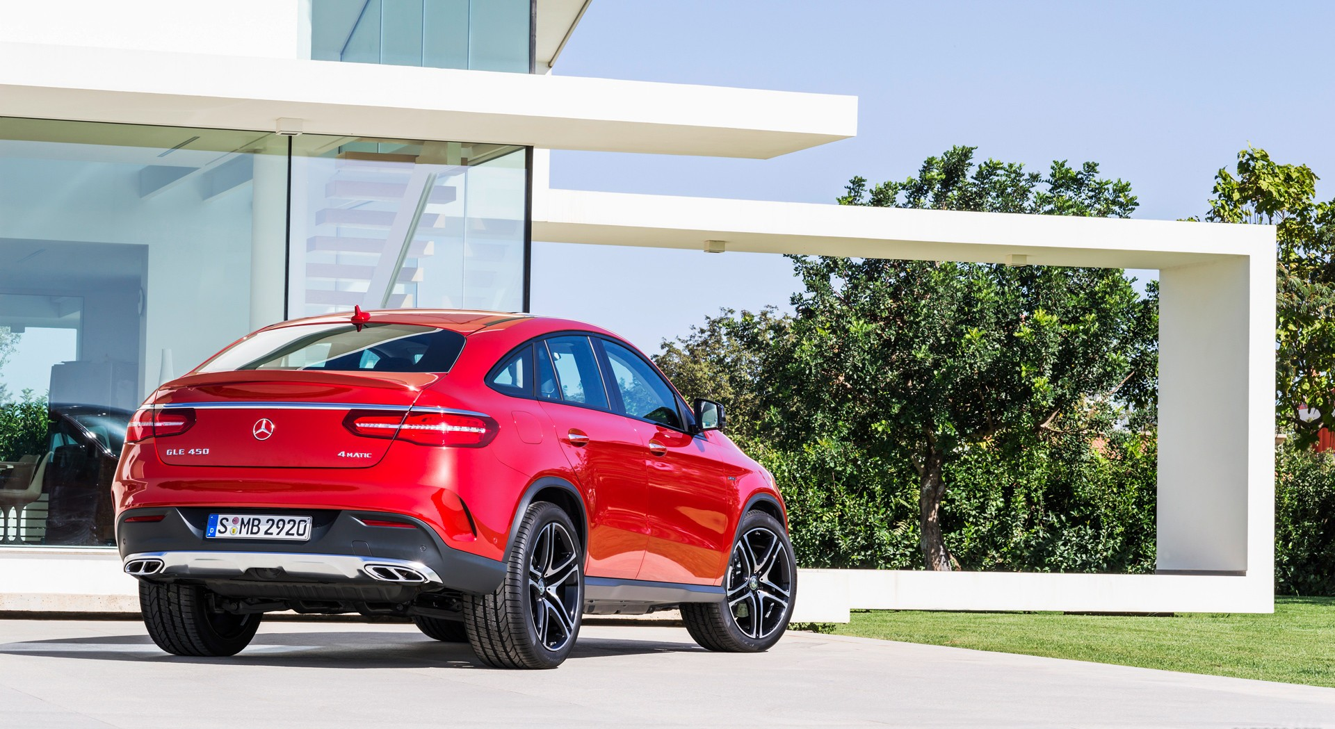 mercedes benz gle450 rear