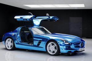 mercedes benz sls amg blue interior