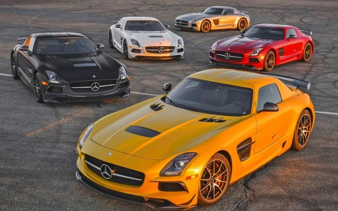 mercedes benz sls amg car collection