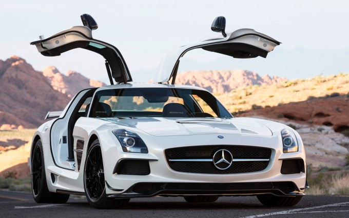 mercedes benz sls amg wings
