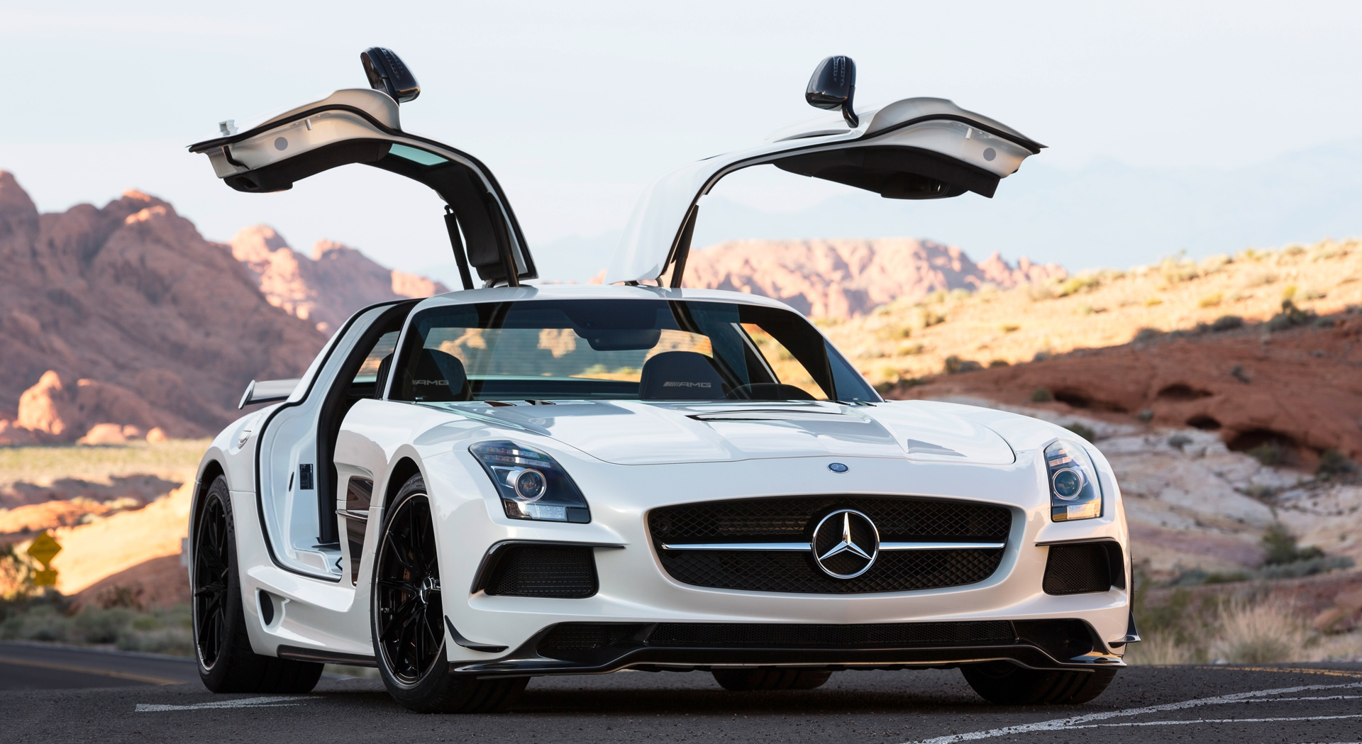 Mercedes benz sls amg wings hd desktop wallpapers 4k hd for 2015 mercedes benz sls amg
