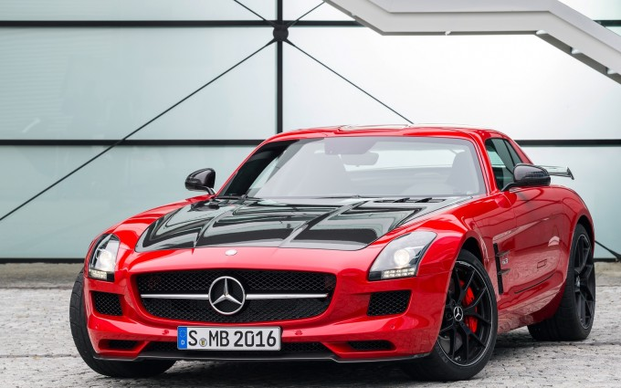 mercedes benz sls wallpaper