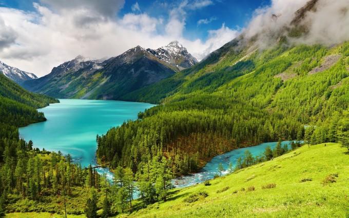 mountain wallpaper lake