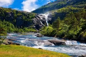mountain wallpaper river landscape