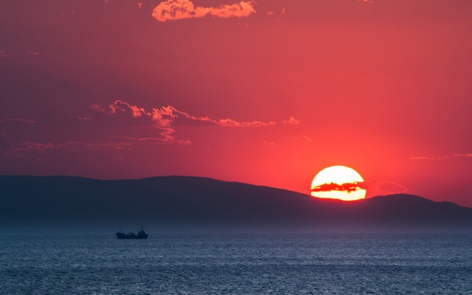 nice sunset wallpapers greece