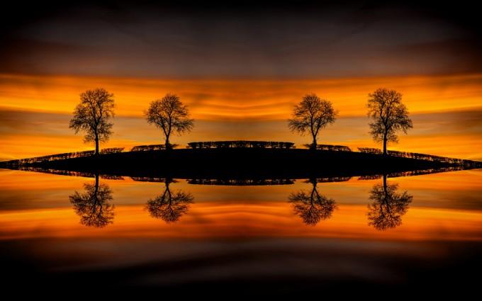 nice sunset wallpapers hd