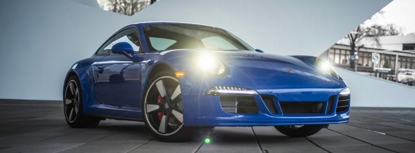 Porsche 911 Gt3 Coupe Blue Hd Desktop Wallpapers 4k Hd