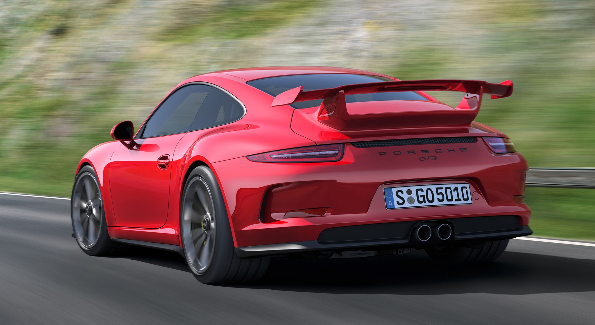 porsche 911 gt3 red