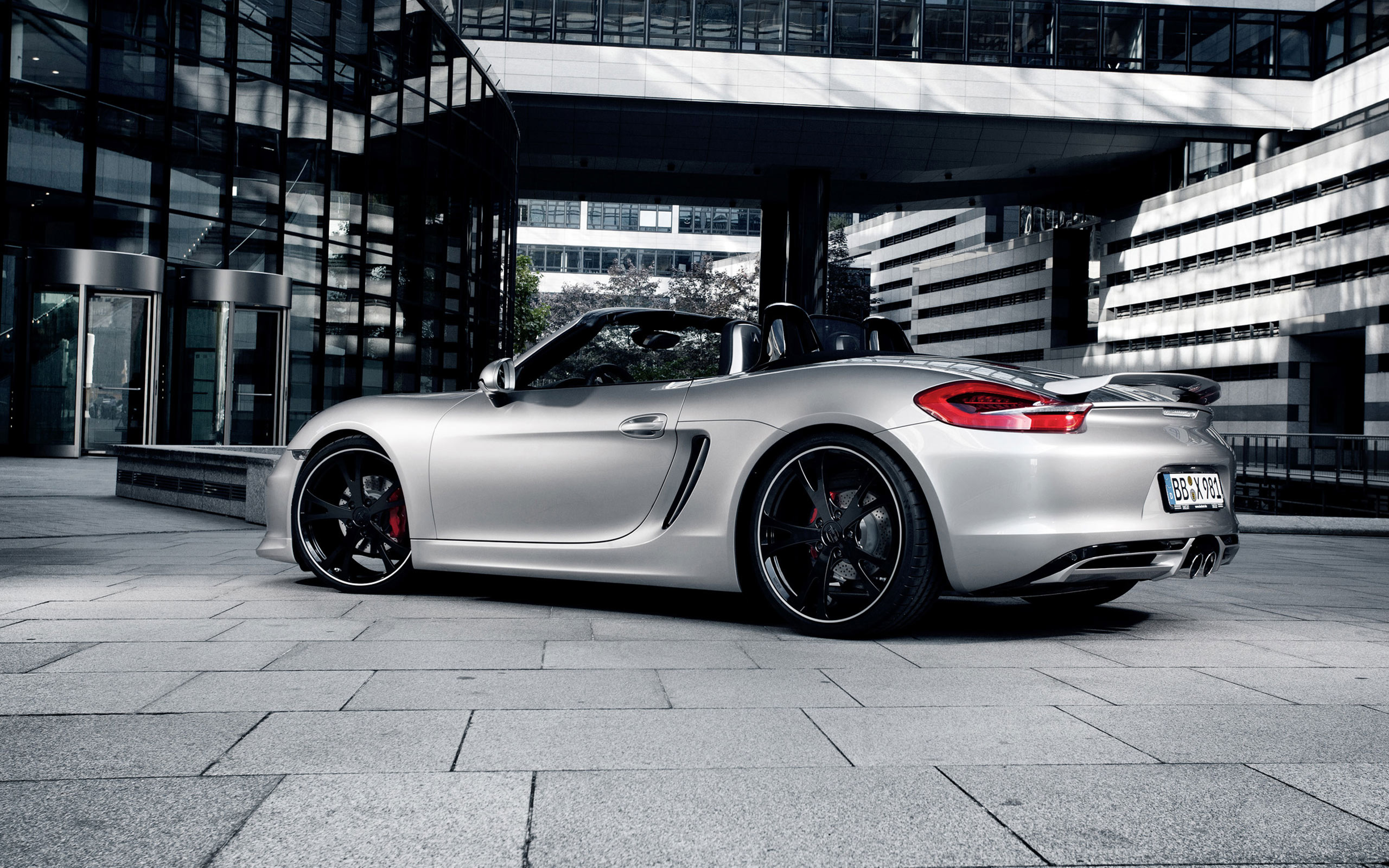 porsche boxster grey wallpaper