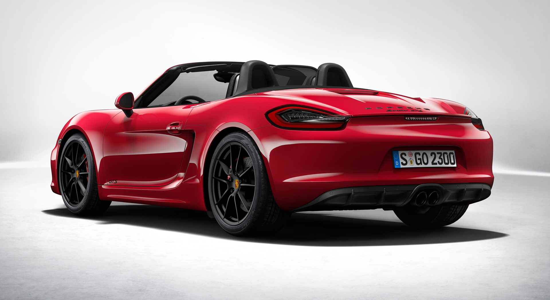 porsche boxster gts red