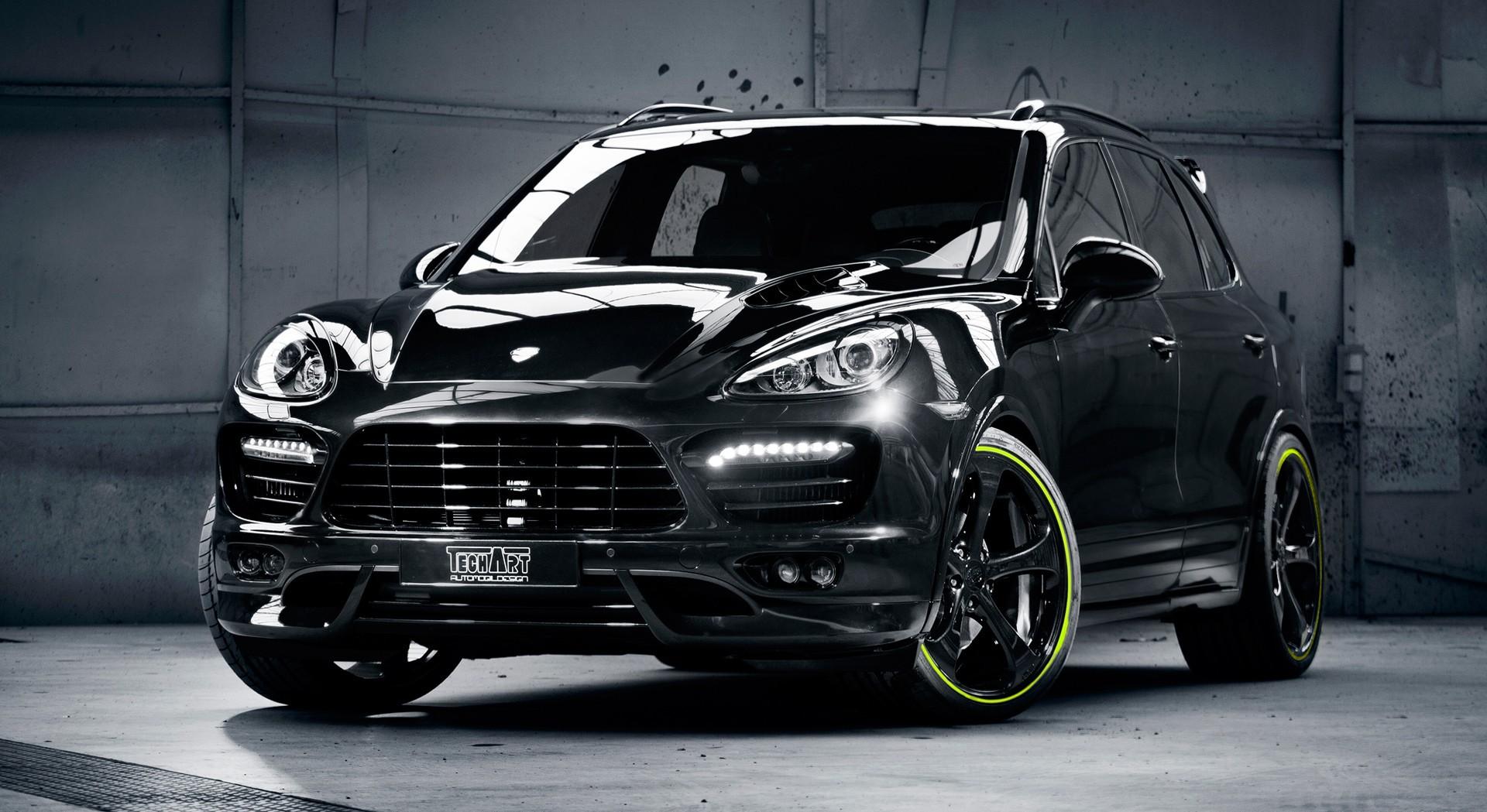 Porsche Cayenne S Black Hd Desktop Wallpapers 4k Hd