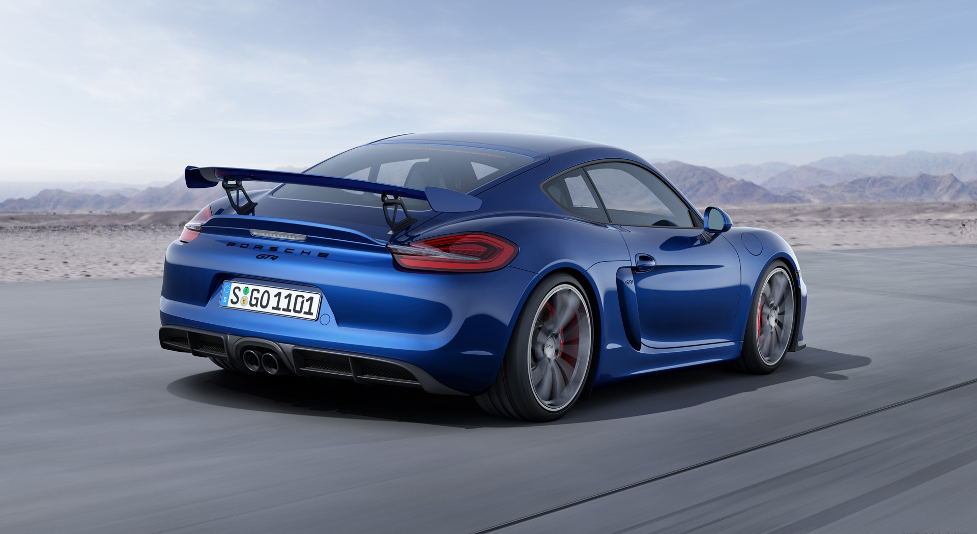 porsche cayman gt4 blue price