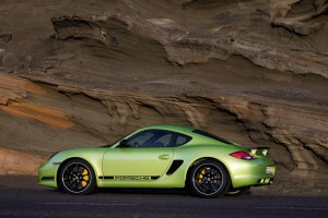 porsche cayman r green cool car