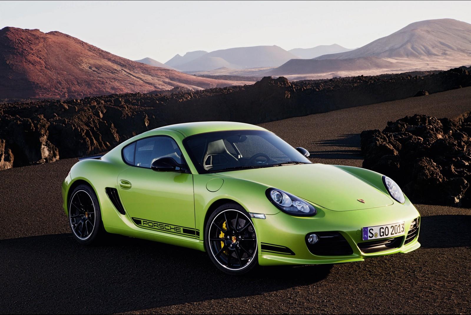 Porsche Cayman R Green Hd Hd Desktop Wallpapers 4k Hd