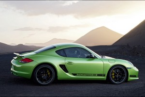 porsche cayman r green picture