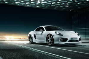 porsche cayman white background