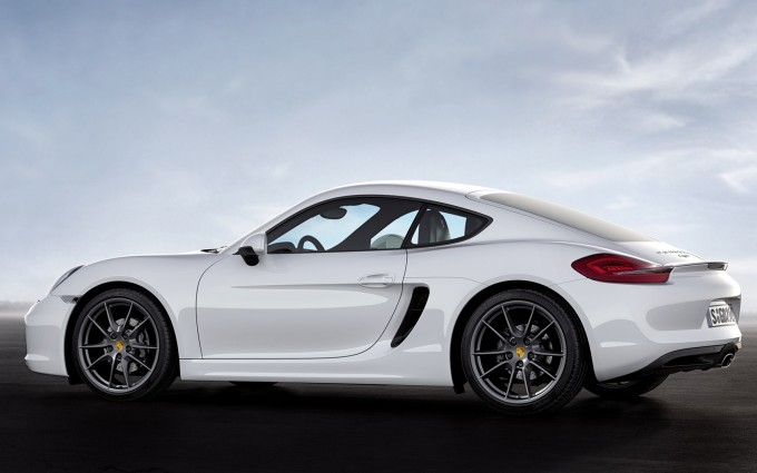 porsche cayman white wheels