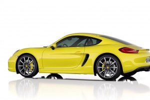 porsche cayman yellow hd