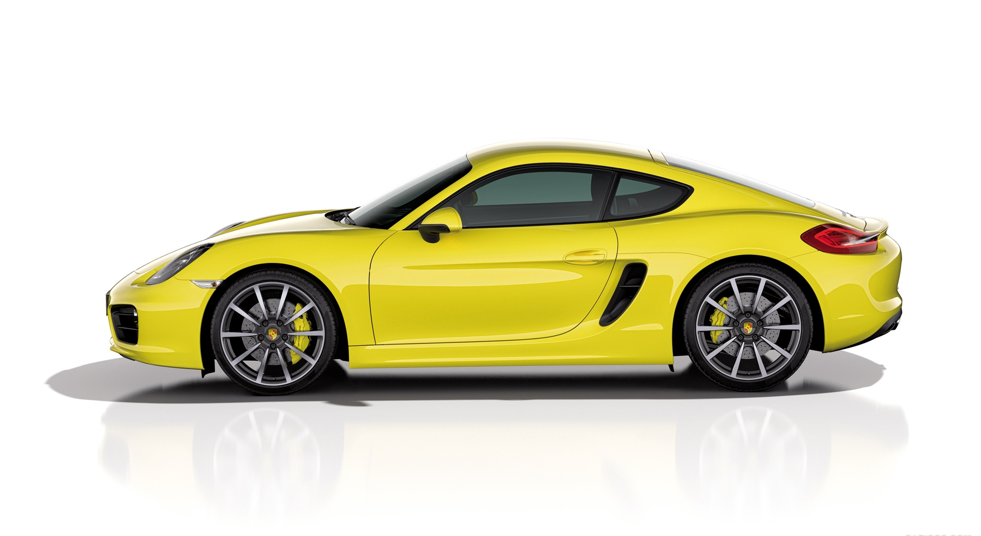 porsche cayman yellow specs