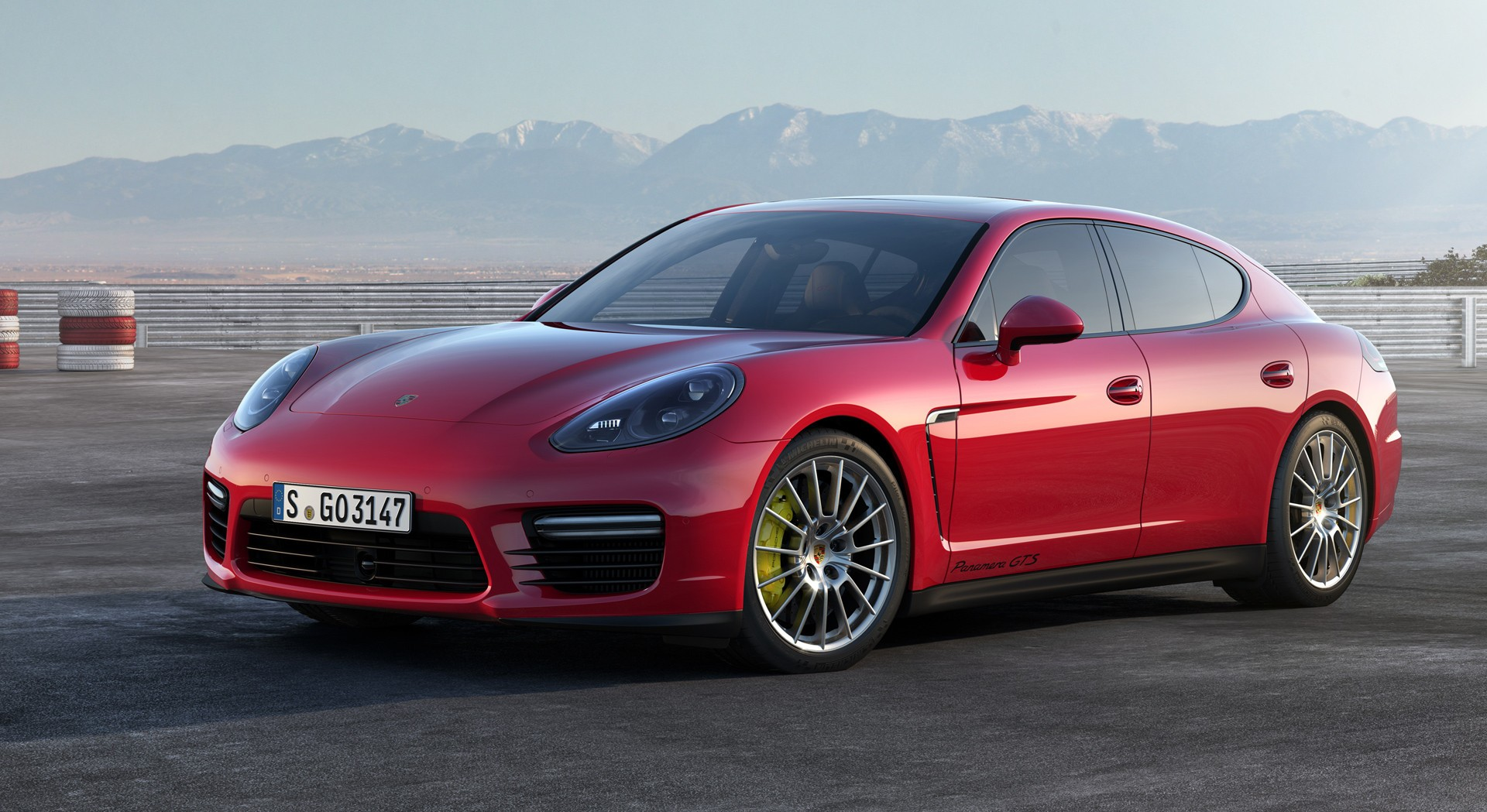 Porsche Panamera Red Hd Desktop Wallpapers 4k Hd