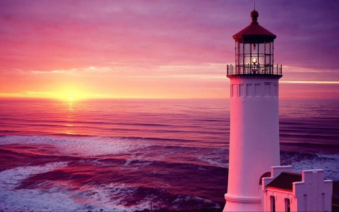 purple sunset wallpaper