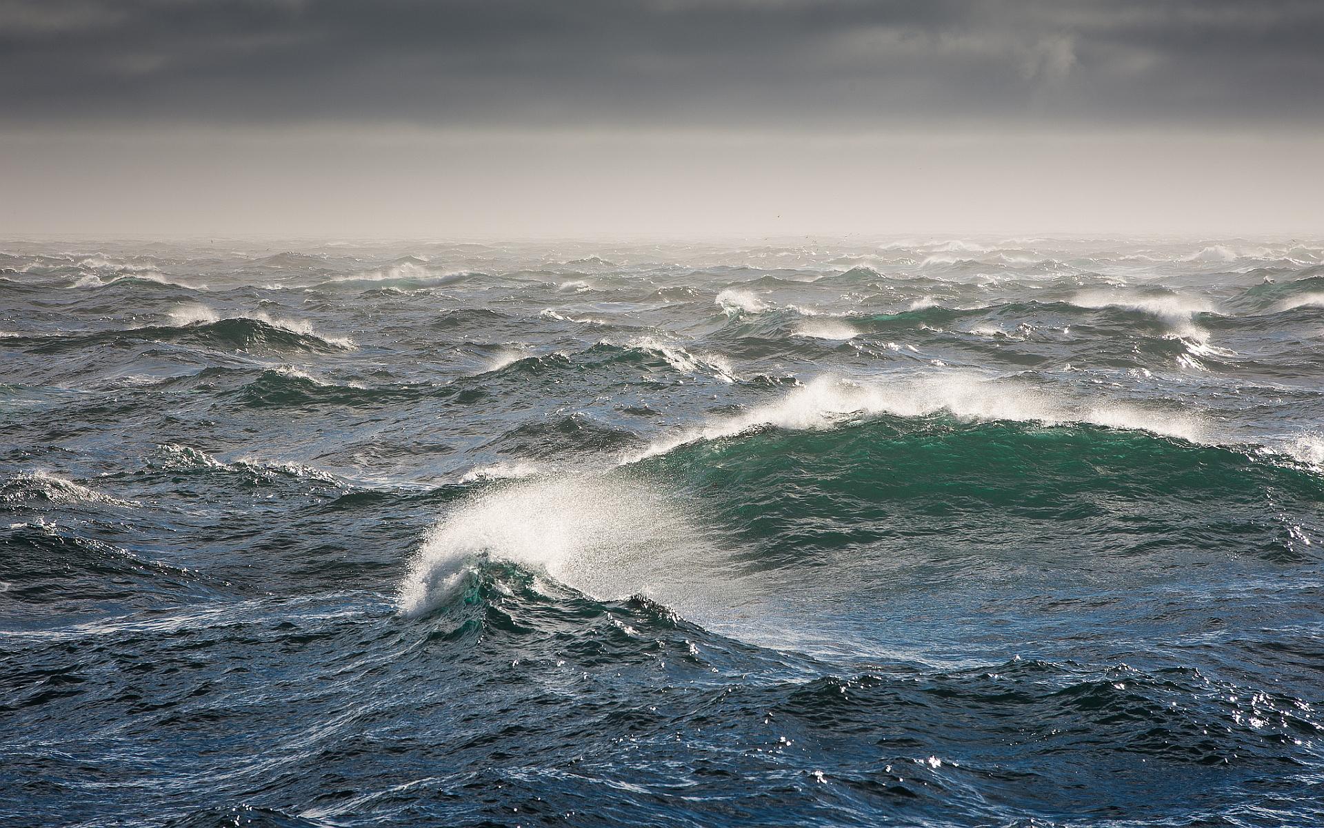 rough ocean waves hd