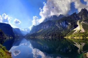 scenery austrian mountains