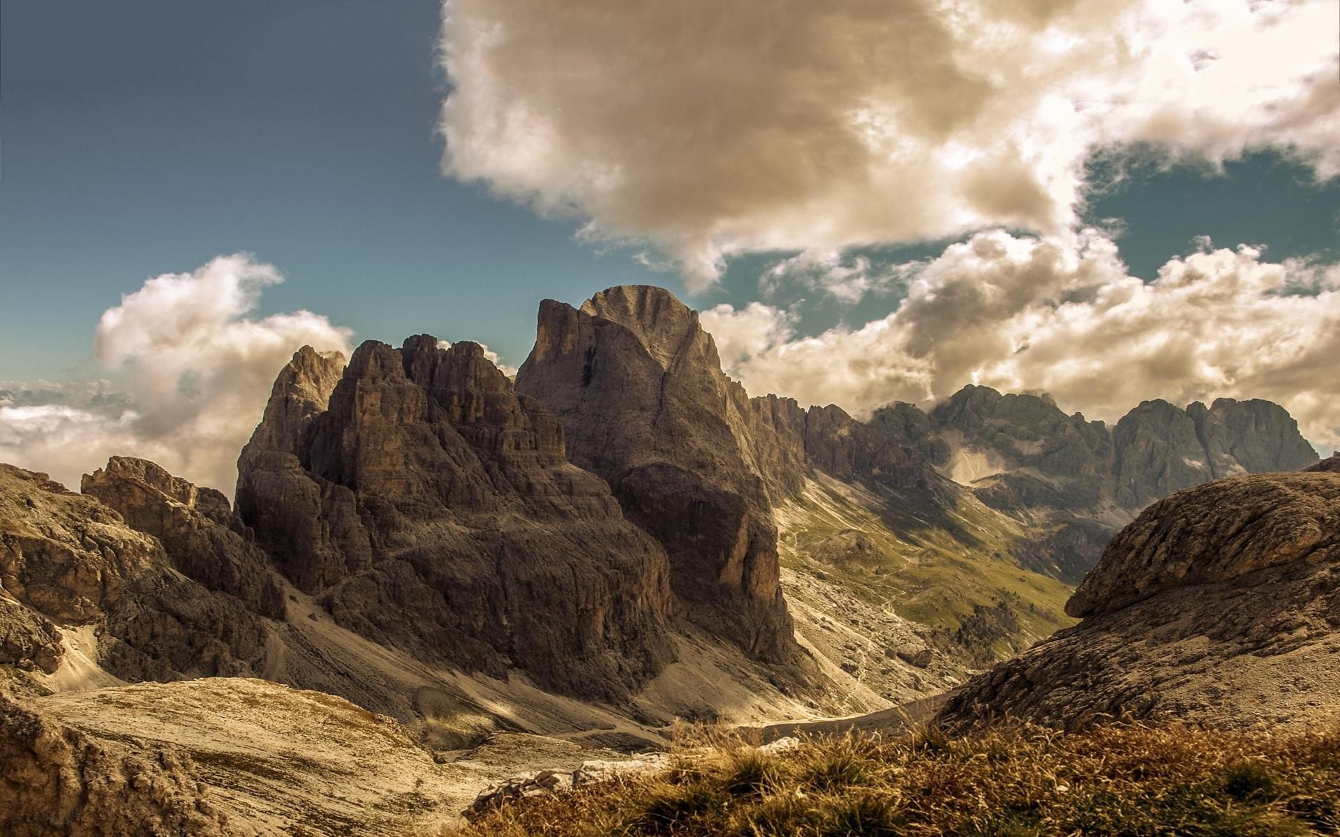 scenery summer mountain