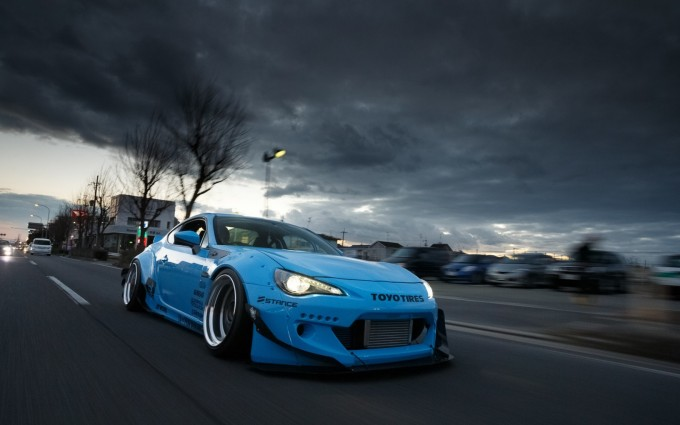 scion blue