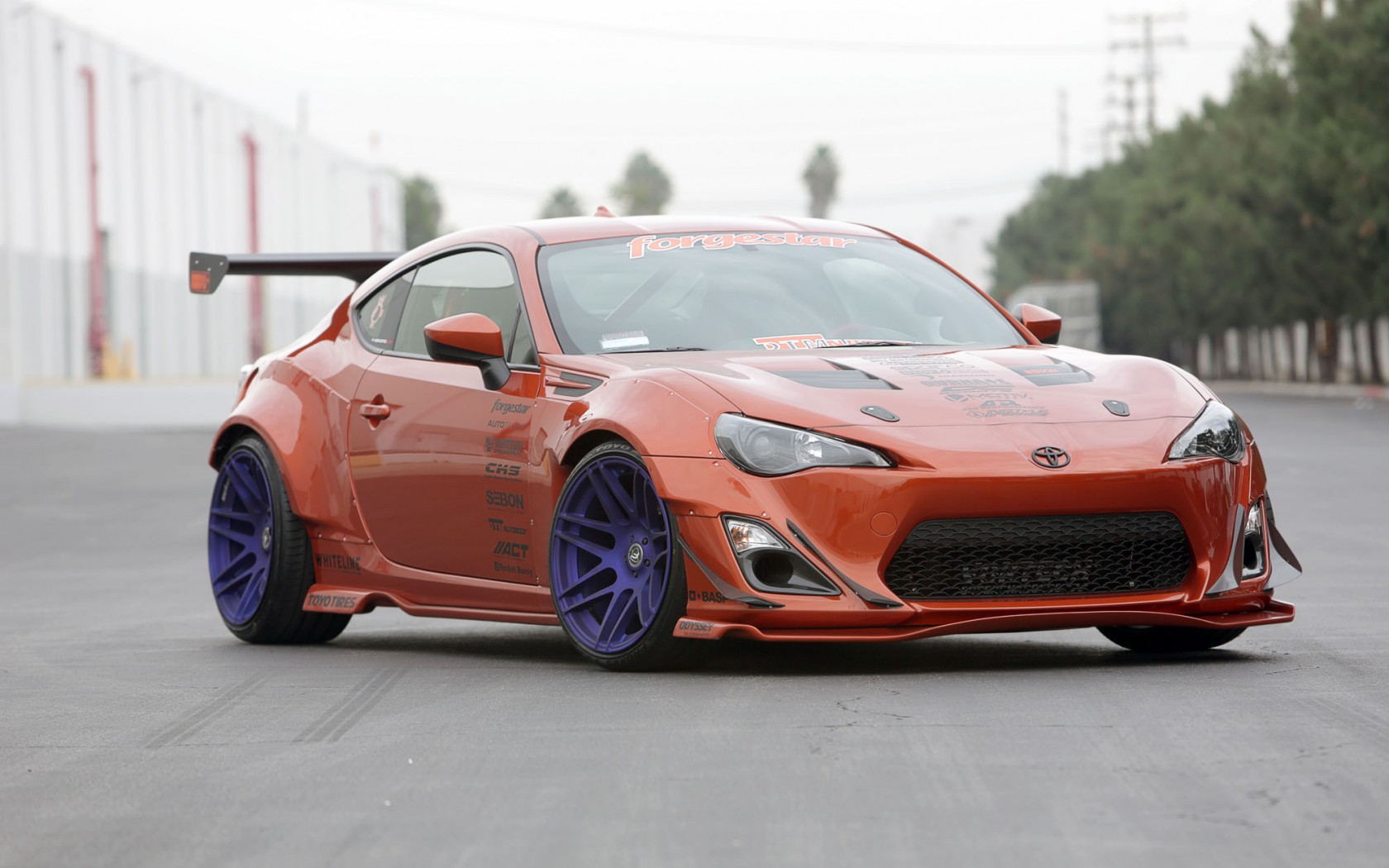 scion car road