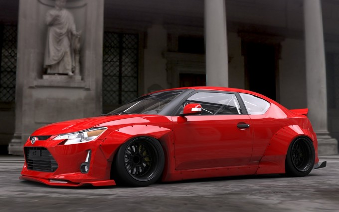scion red hd