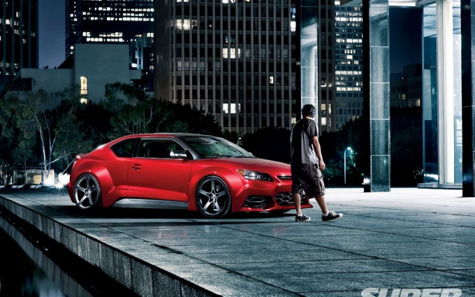 scion tc front
