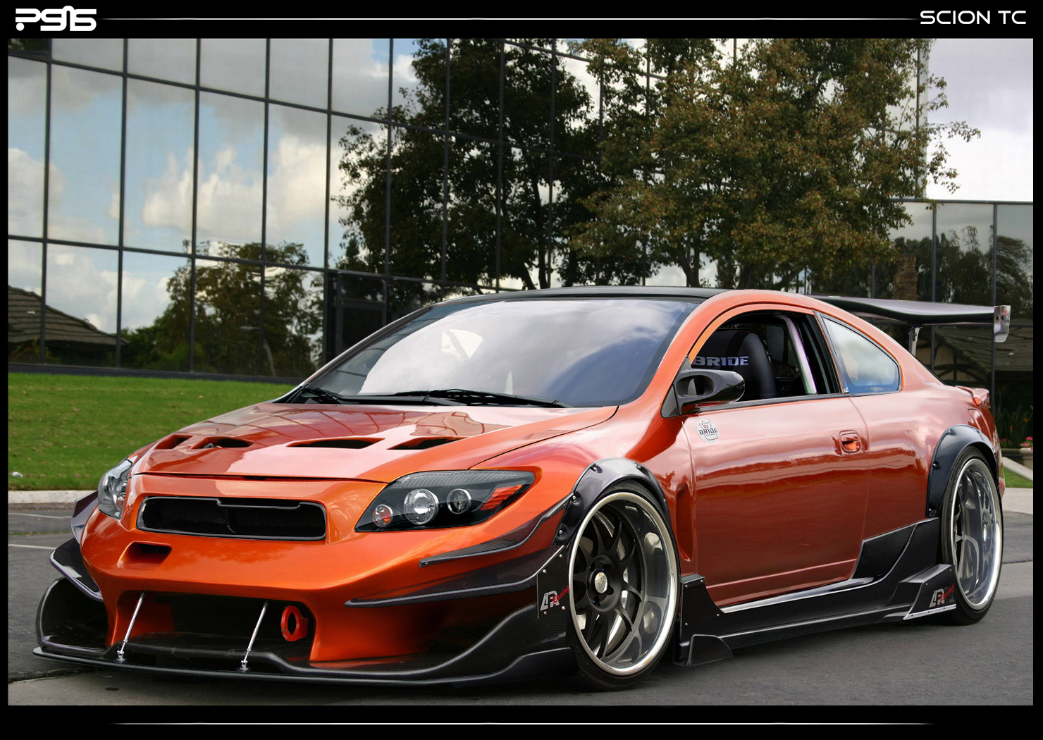 scion tc modified