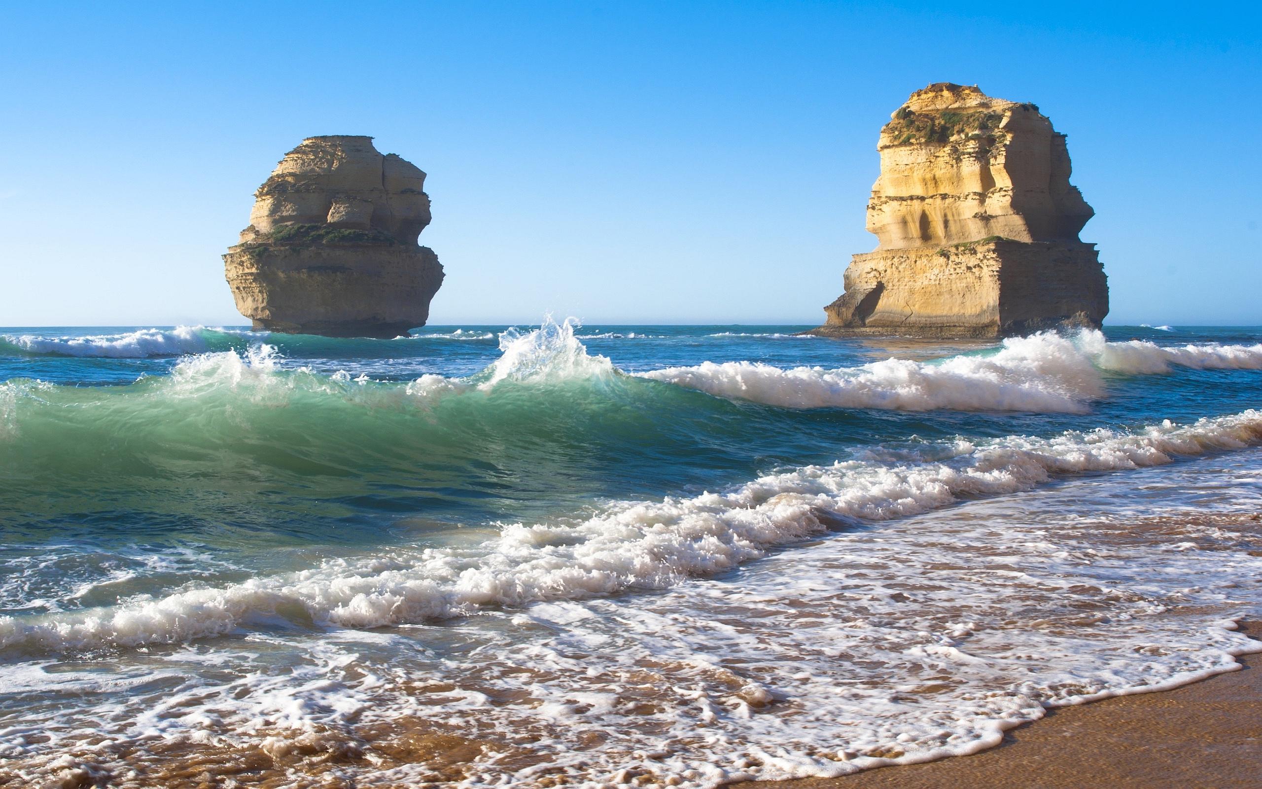 sea rock wallpaper