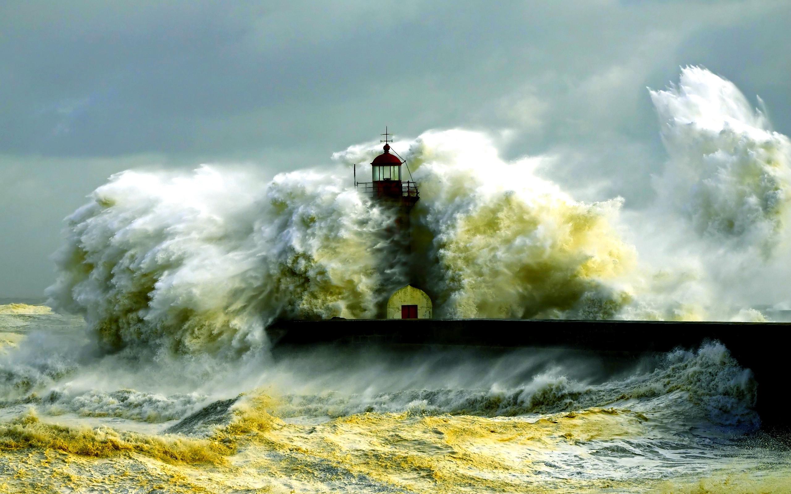 seashore lighthouse