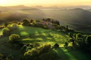 sunrise pictures tuscany