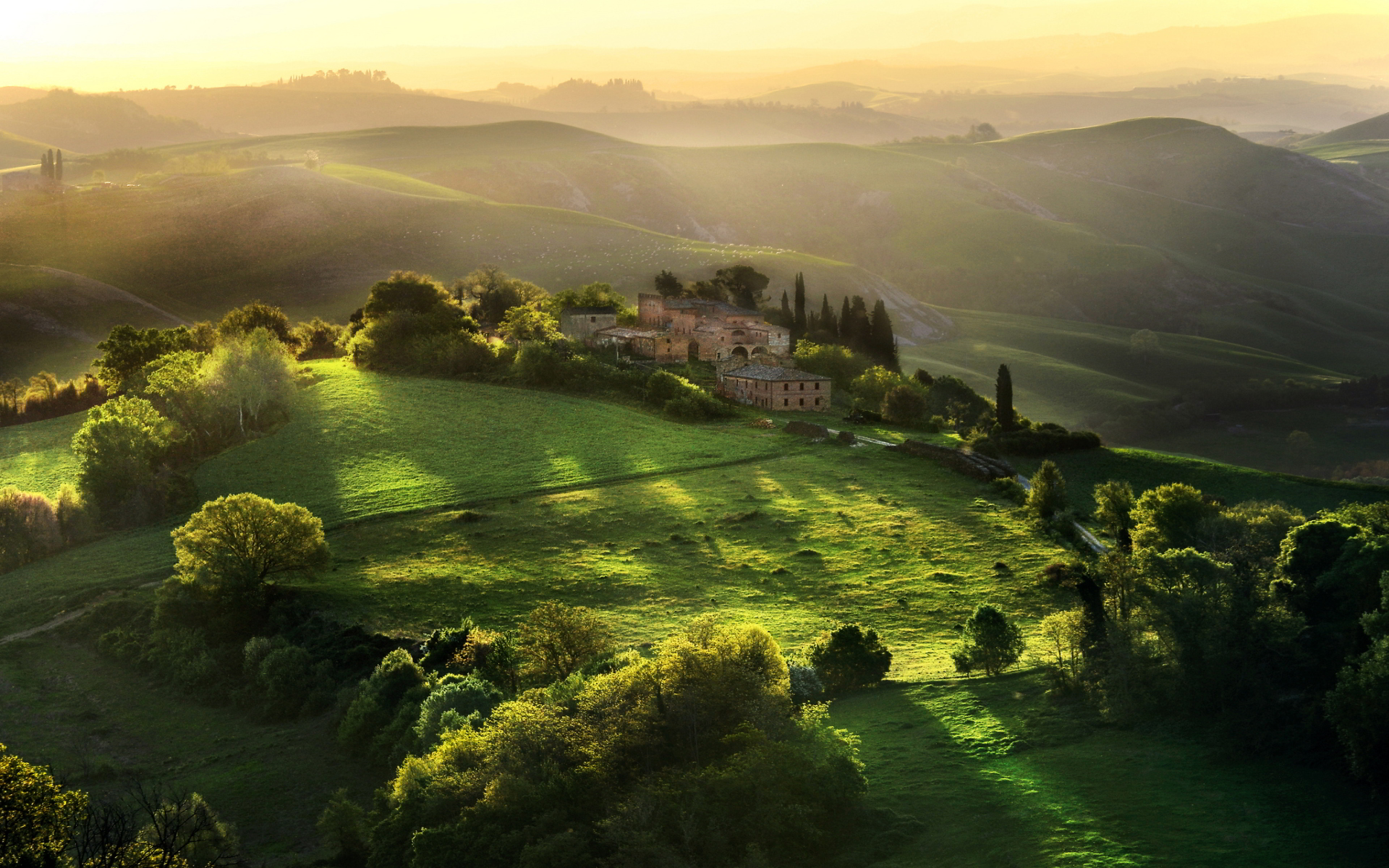 sunrise pictures tuscany