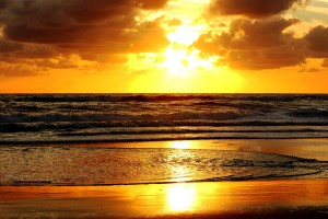 sunset images beach hd
