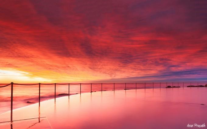 sunset photos australia