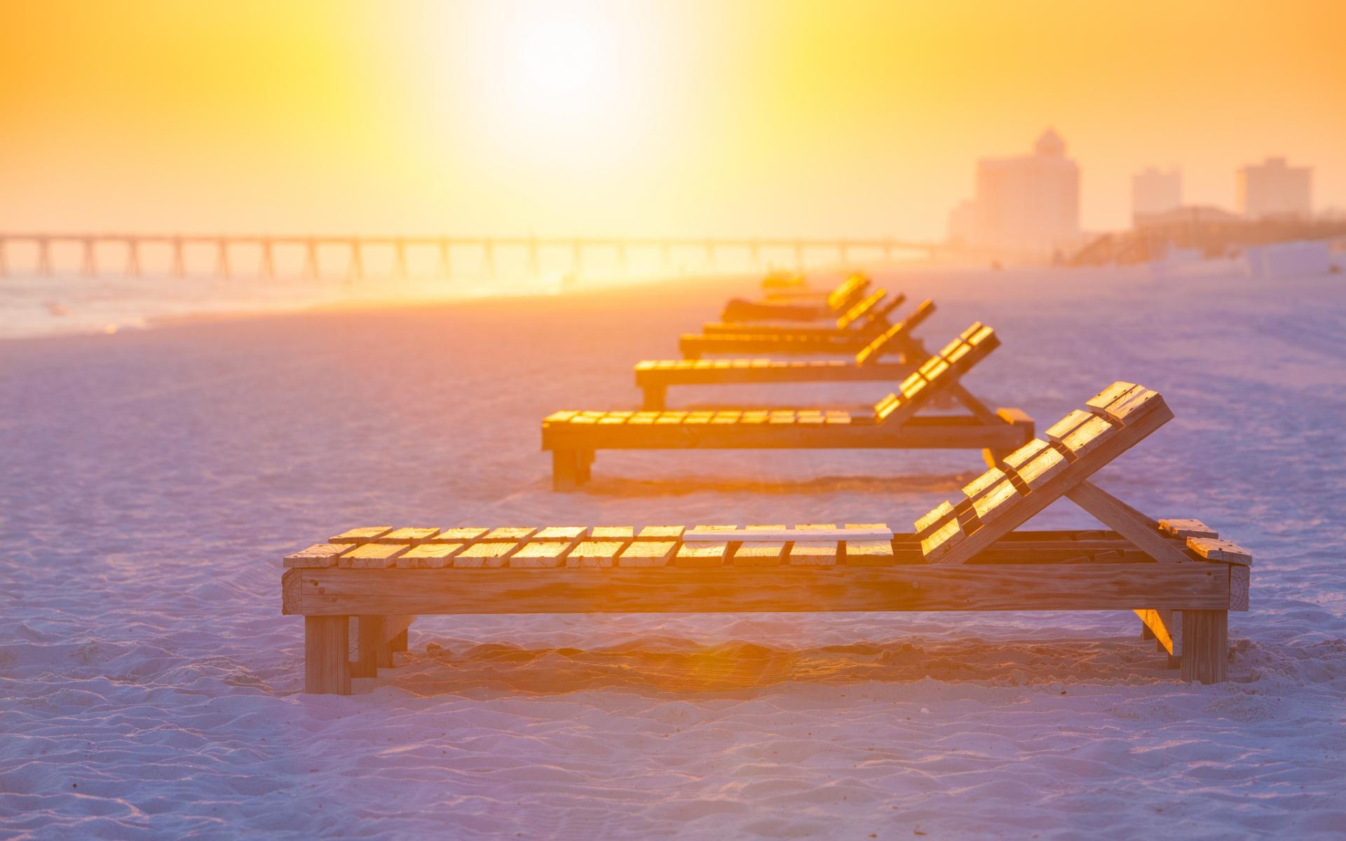 sunset photos beach