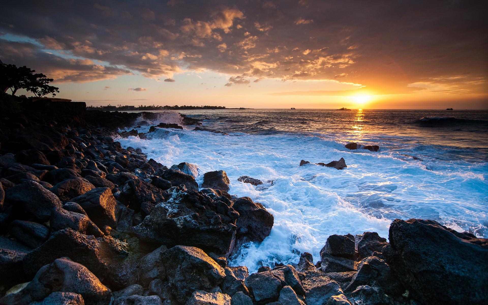 sunset photos coastal